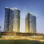 アビダタワーズリアラ | Avida Towers Riala 外観ライトアップ