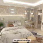ミ カーサのスリーベッドルーム 主寝室イメージ図