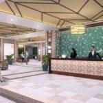インフィナタワーズのフロントレセプション施設完成予想図