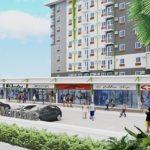 アマイア ステップス マンダウエの商業エリア完成予想図