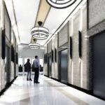 ザ・カムデン・プレイスのエレベーターホール完成予想図