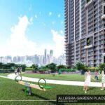 アレグラ・ガーデン・プレイスの子供用遊び場完成予想図