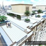 アレグラ・ガーデン・プレイスの屋上散歩道完成予想図